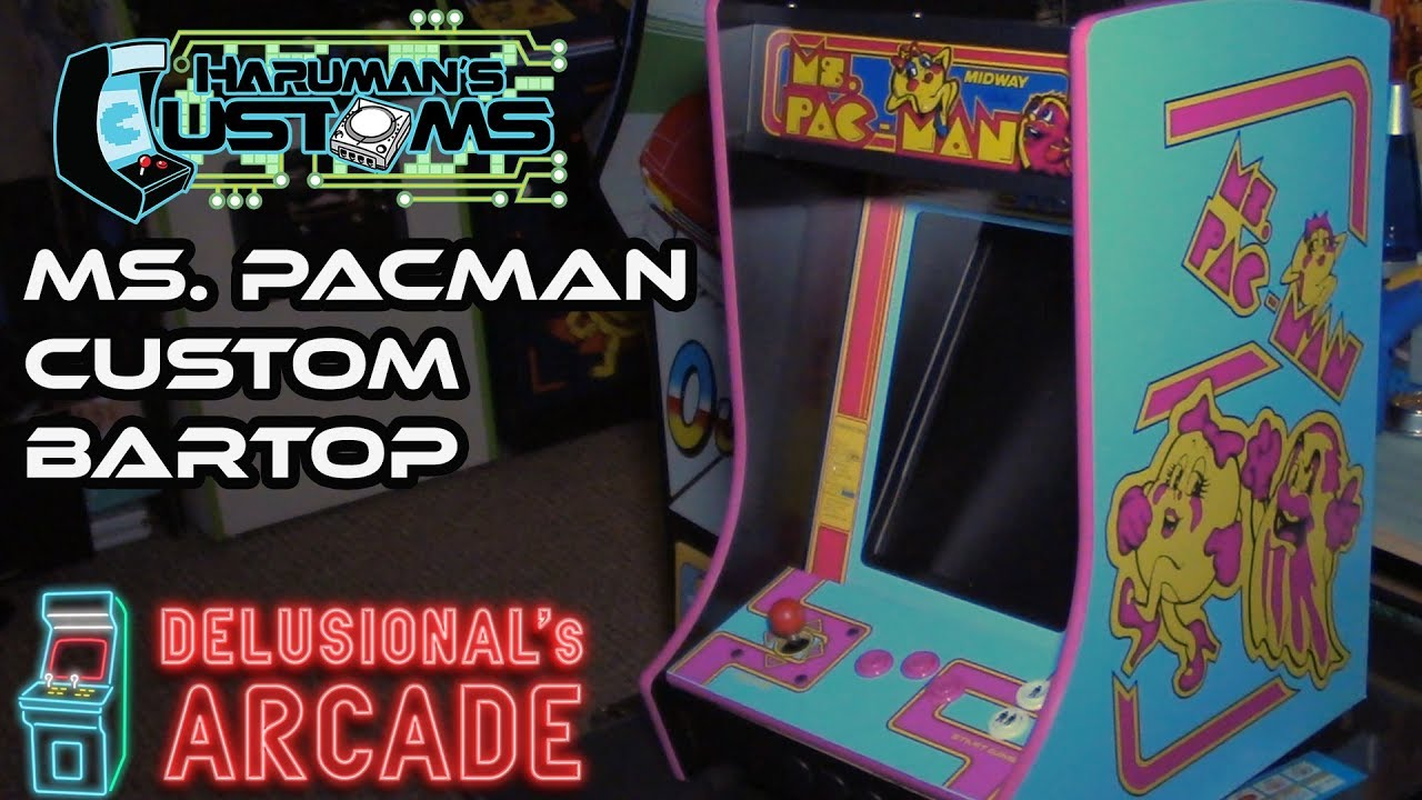 Ms  Pacman Bartop [Haruman Customs]