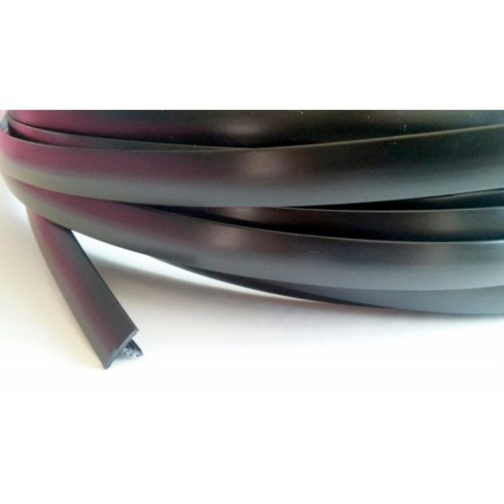 "1/2"" T-molding - Black - 20 feet"